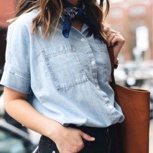NWT Madewell courier shirt Medium